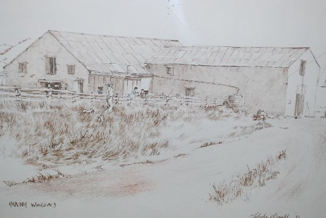 Arkaba Woolshed Indian