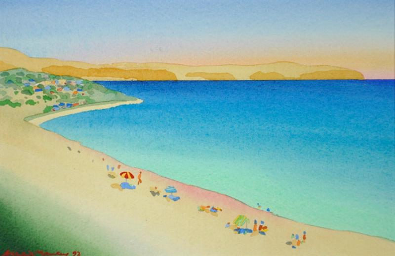 Carrickalinga Australia  City new picture : carrickalinga summer watercolour 29 x 18 5 cm collectable australian ...