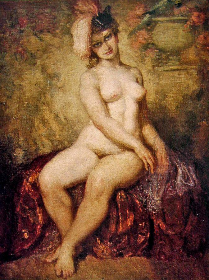Aus nude painter