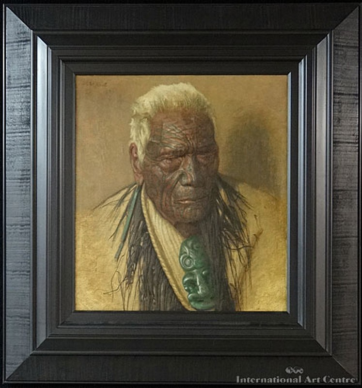 A Noble Relic of a Noble Race, Wharekauri Tahuna Aged 102, Chieftain Of the Arawa Tribe