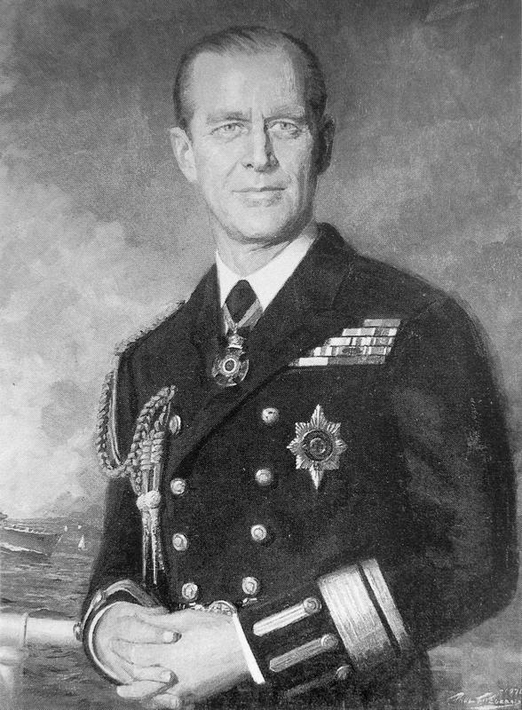 Portrait of H. R. H. Prince Philip, the Duke of Edinburgh