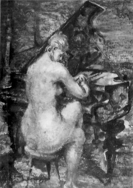 Nude with Piano