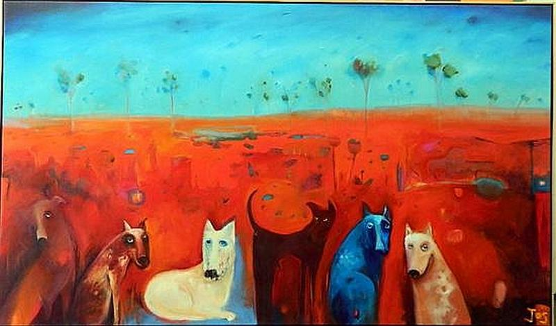 Index Australian Outback Paintings Artists