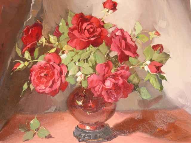 Floral Still Life Roses