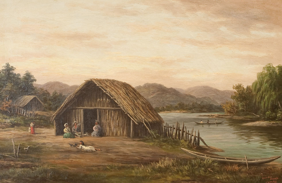 Maori Pa Waikato