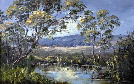 Homestead and Creek, Grampians