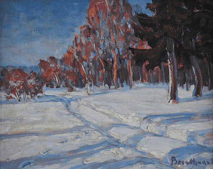 'Snowscape Near Oberon'