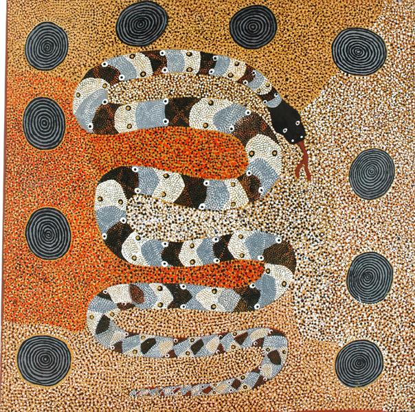 Kititjara (The Large Snake Wanampi) 1988