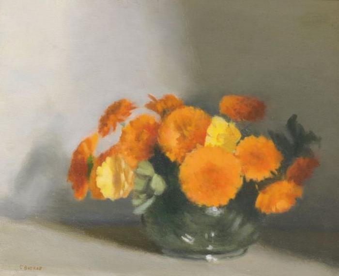 Bowl of Marigolds