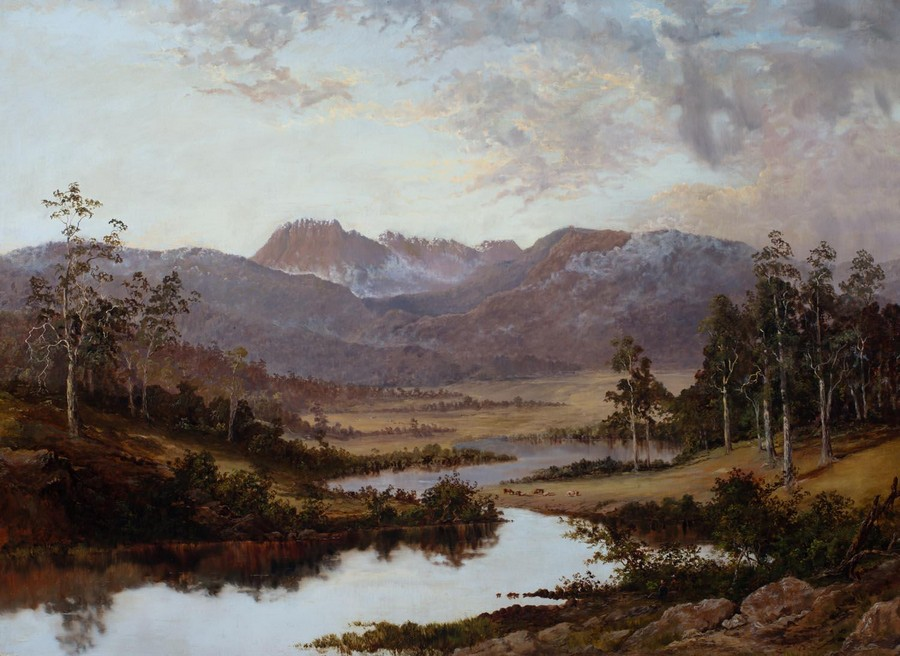 Legge's Tor' Ben Lomond and the Valley of The South Esk 1879