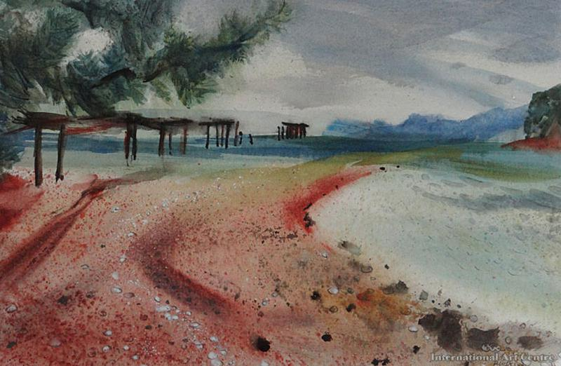 Onekaka New Zealand  City new picture : Works on Paper Doris Lusk Page 2 Australian Art Auction Records