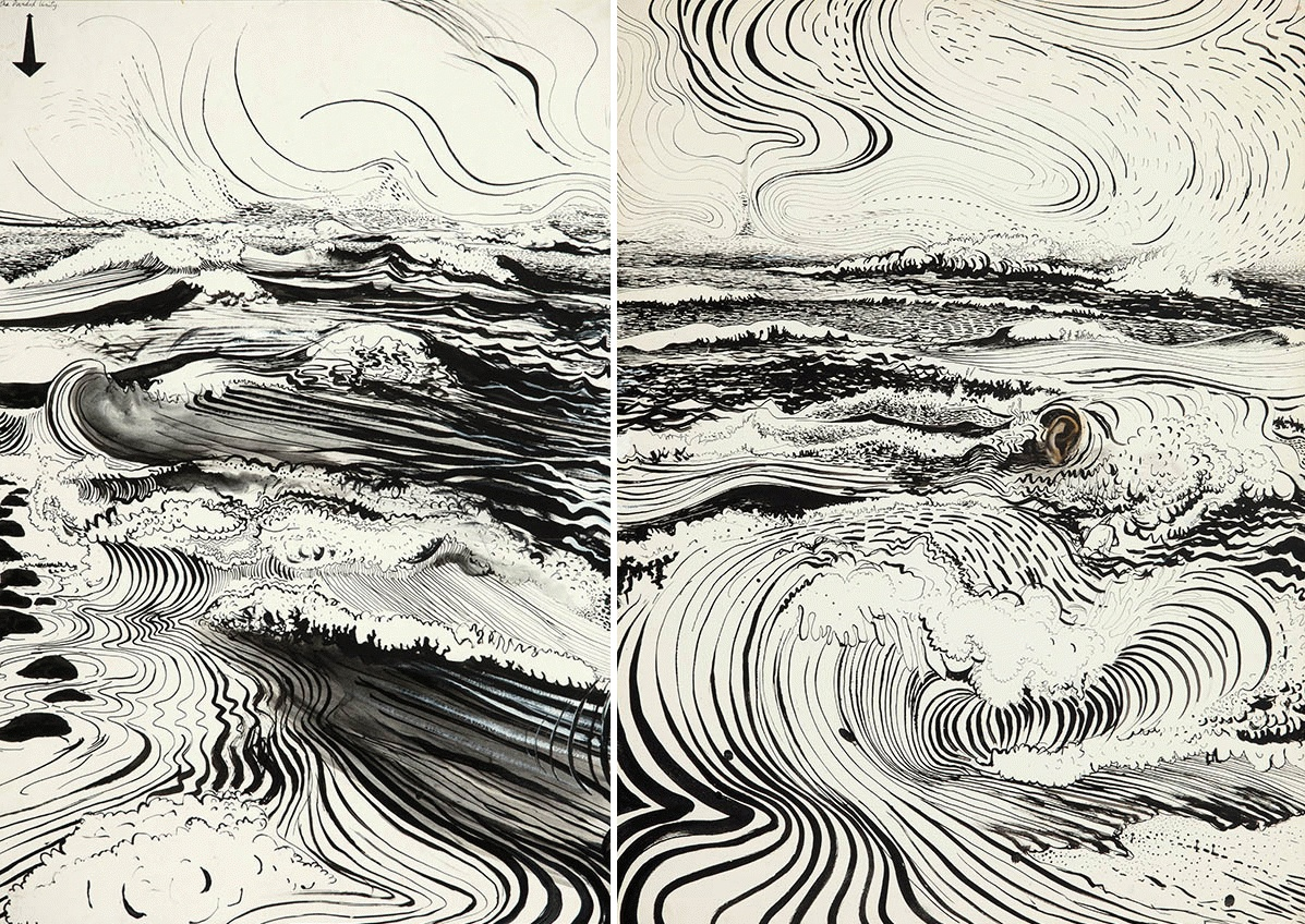 Line Unity Art : Paintings brett whiteley page australian art