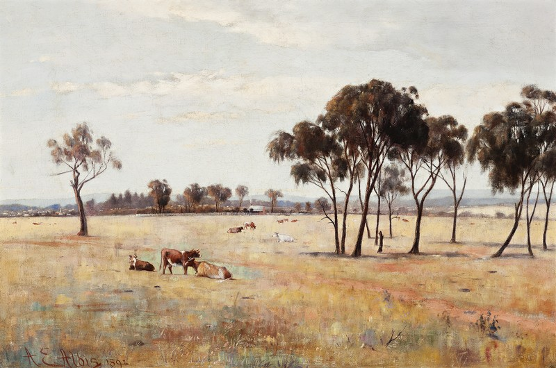 Royal Park, Melbourne – Summer, 1892