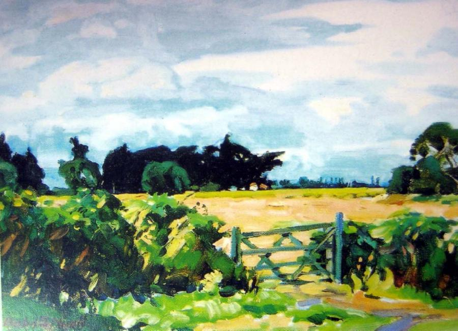 Paintings archibald frank nicoll page 11 australian for Landscaping christchurch