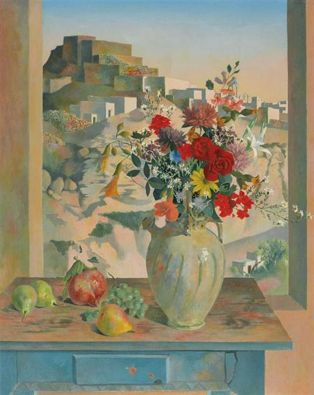 Still Life Against a Landscape (1972)