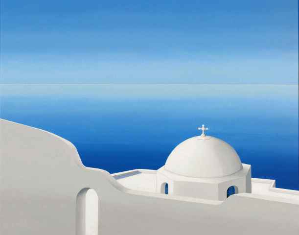 White Dome and Sea