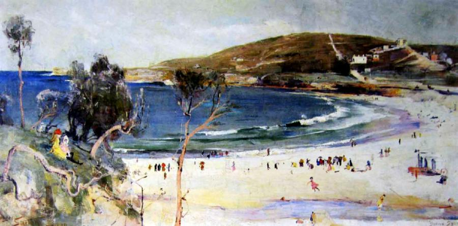 Sunny South - Coogee Bay, 1890