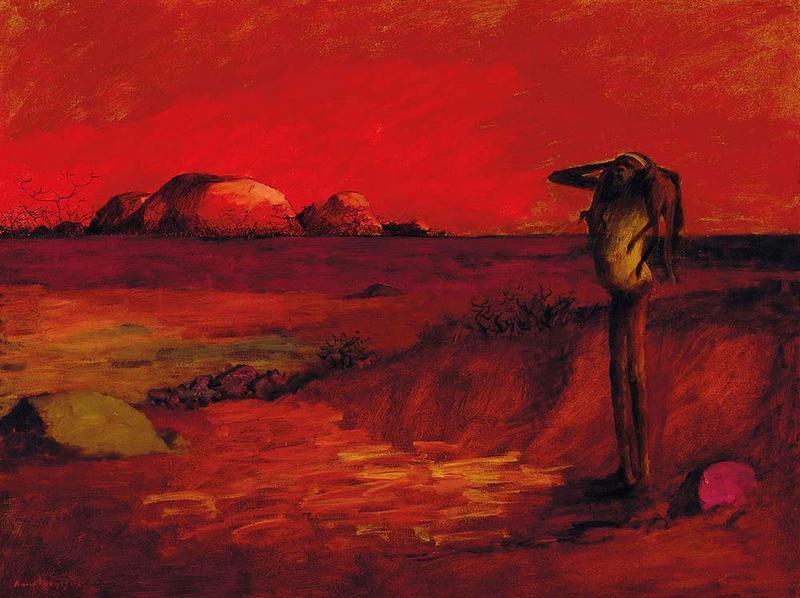 Red Landscape, 1958