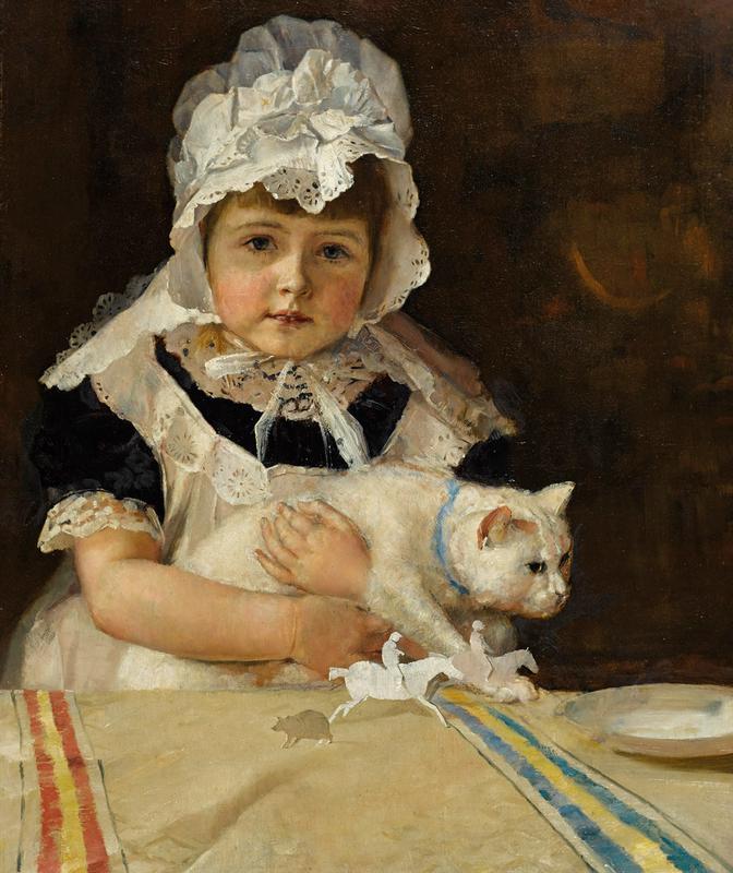 Miss Minna Simpson (1886)