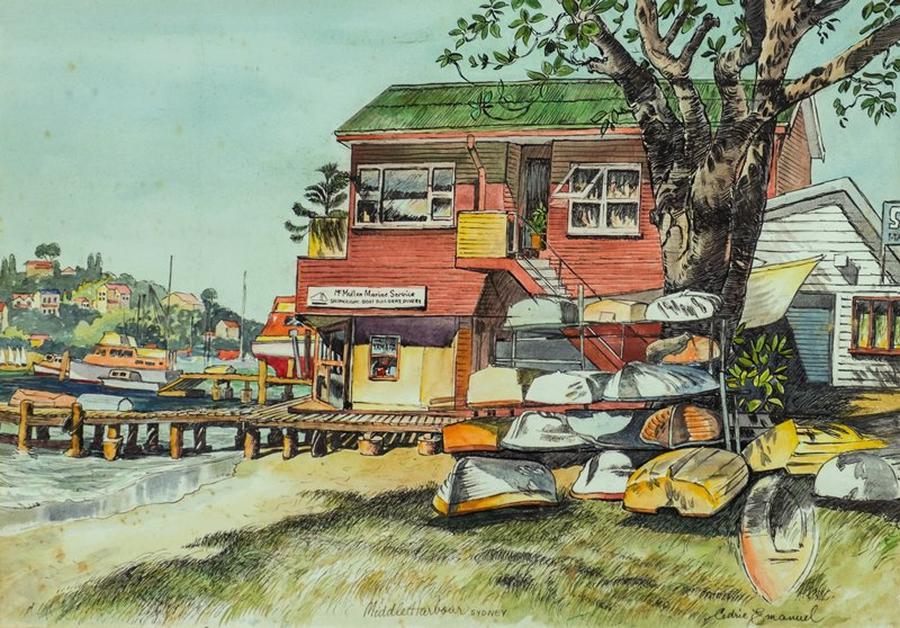 Cedric Emanuel - List All Works