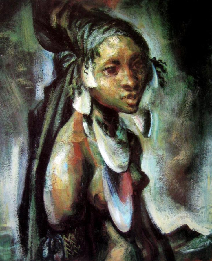 Kuta Girl, New Guinea, 1954