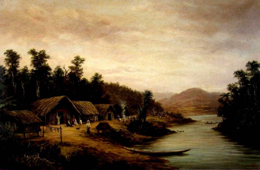 Maori Pah, Waikato