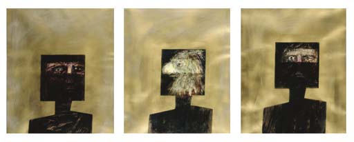 Ned Kelly (Triptych)