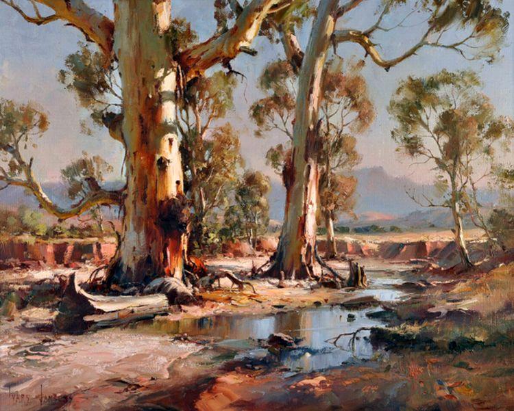 Paintings ivars jansons page 2 australian art for Australian mural artists