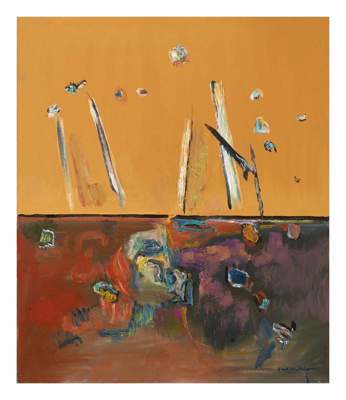 Gum Trees in Landscape II, 1966