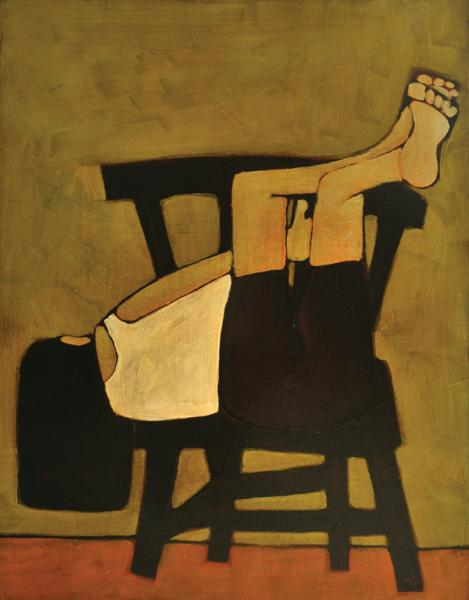 Girl and Chair 2003