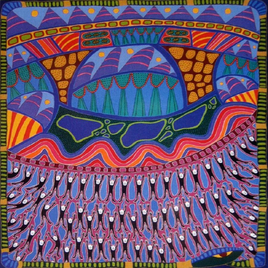 Paintings Sally Morgan Australian Art Auction Records