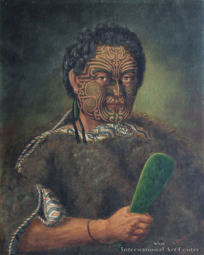Te Pehi Kupe, Warrior of the Ngati Toa Tribe