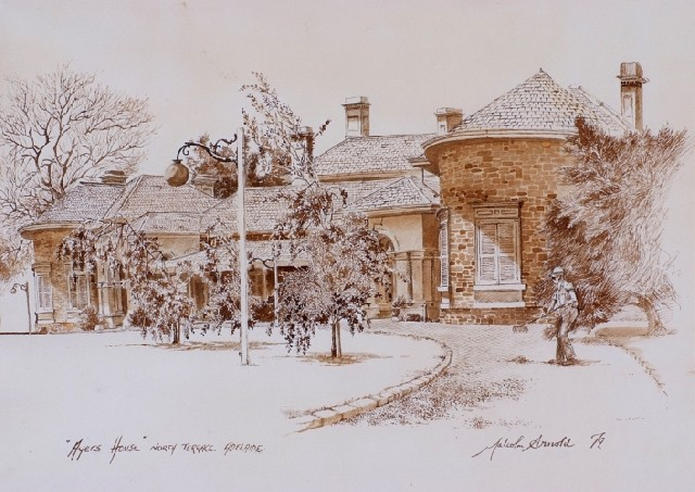 Ayers House, North Terrace Adelaide