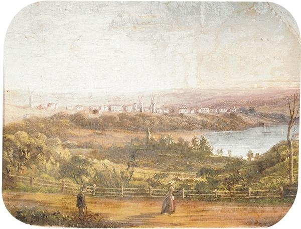Watson's Bay and Southhead from Old Southhead Road; Potts Point (2)