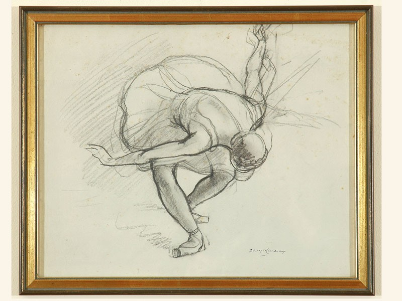 Paper daryl ernest lindsay page 2 australian art auction records