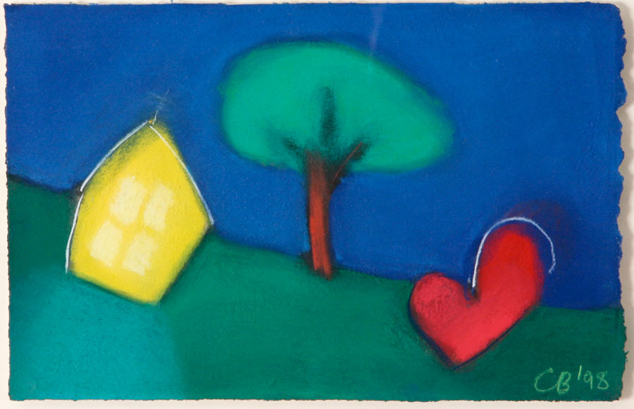 Heart and House Together with Horse and Dove Together With House and Tree (3)