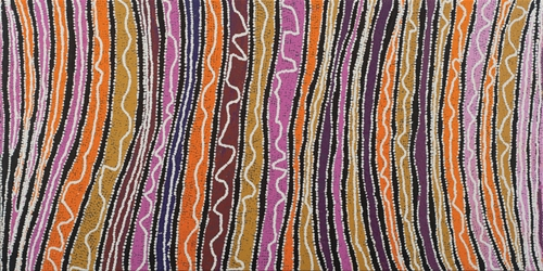 Wakirlpirri Jukurrpa (Snake Vine Dreaming) by Liddy Walker Napanagka