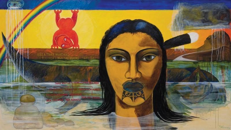 Pintura: Robyn F. Kahukiwa