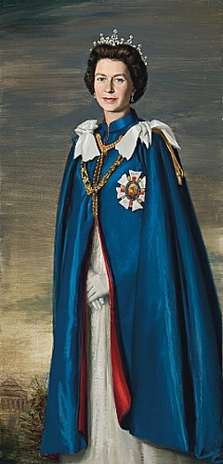 Portrait of H.M. Queen Elizabeth II, 1967