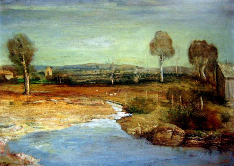 Autumn Landscape, Bathurst 1956
