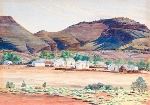 Albert Namatjira Original Paintings For Sale